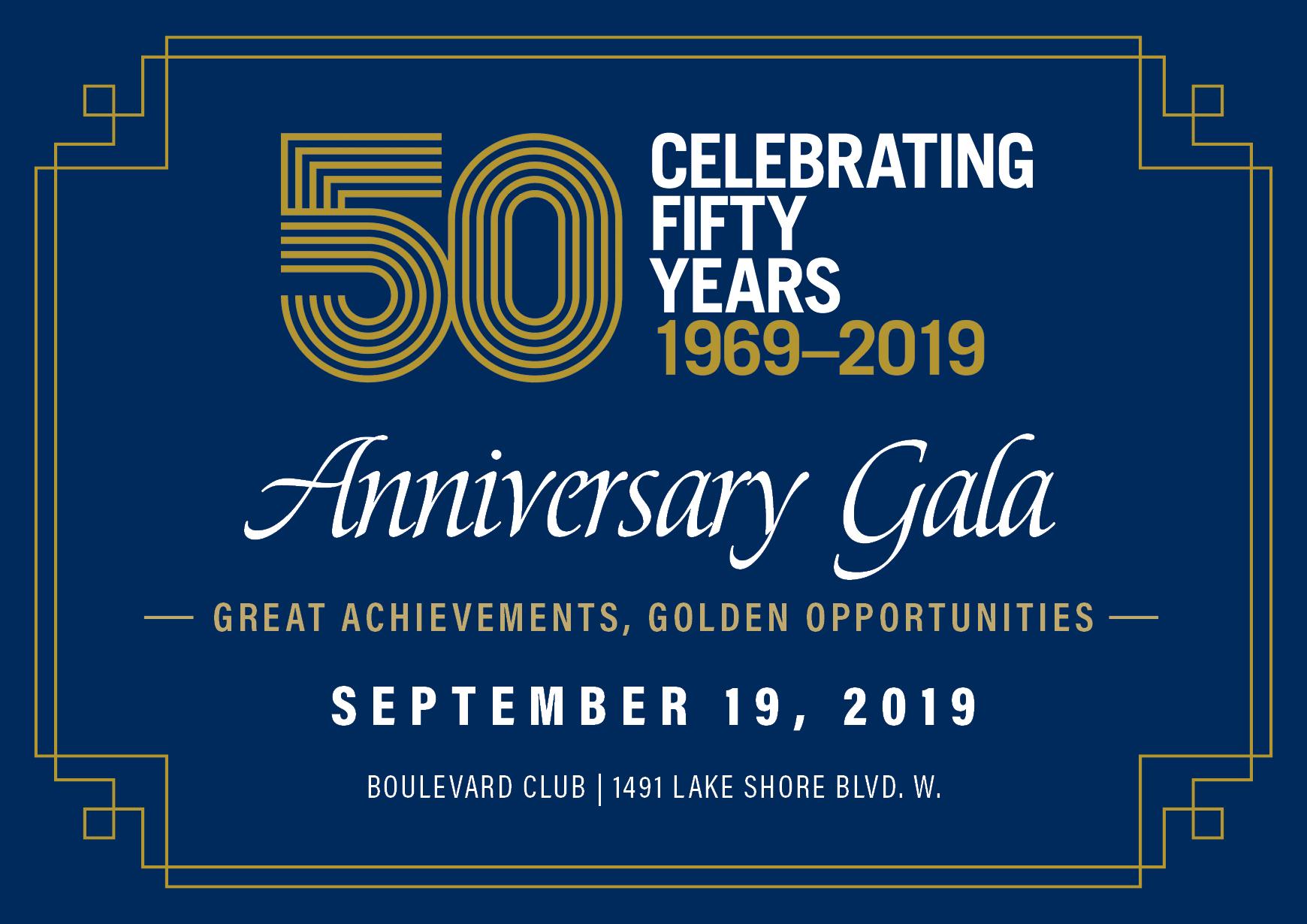 50th Gala Invite