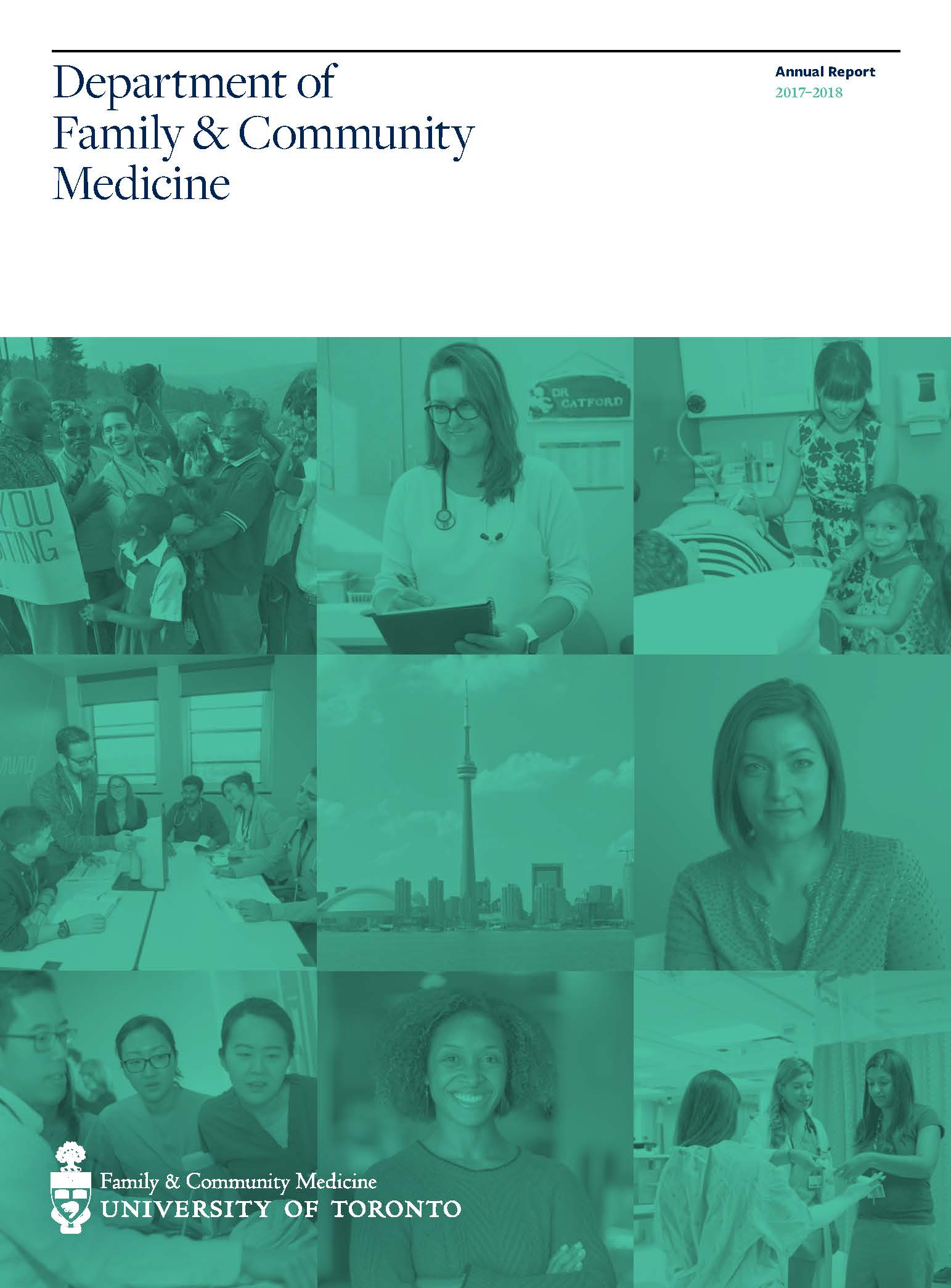 DFCM Annual Report 2017-2018 Cover Page
