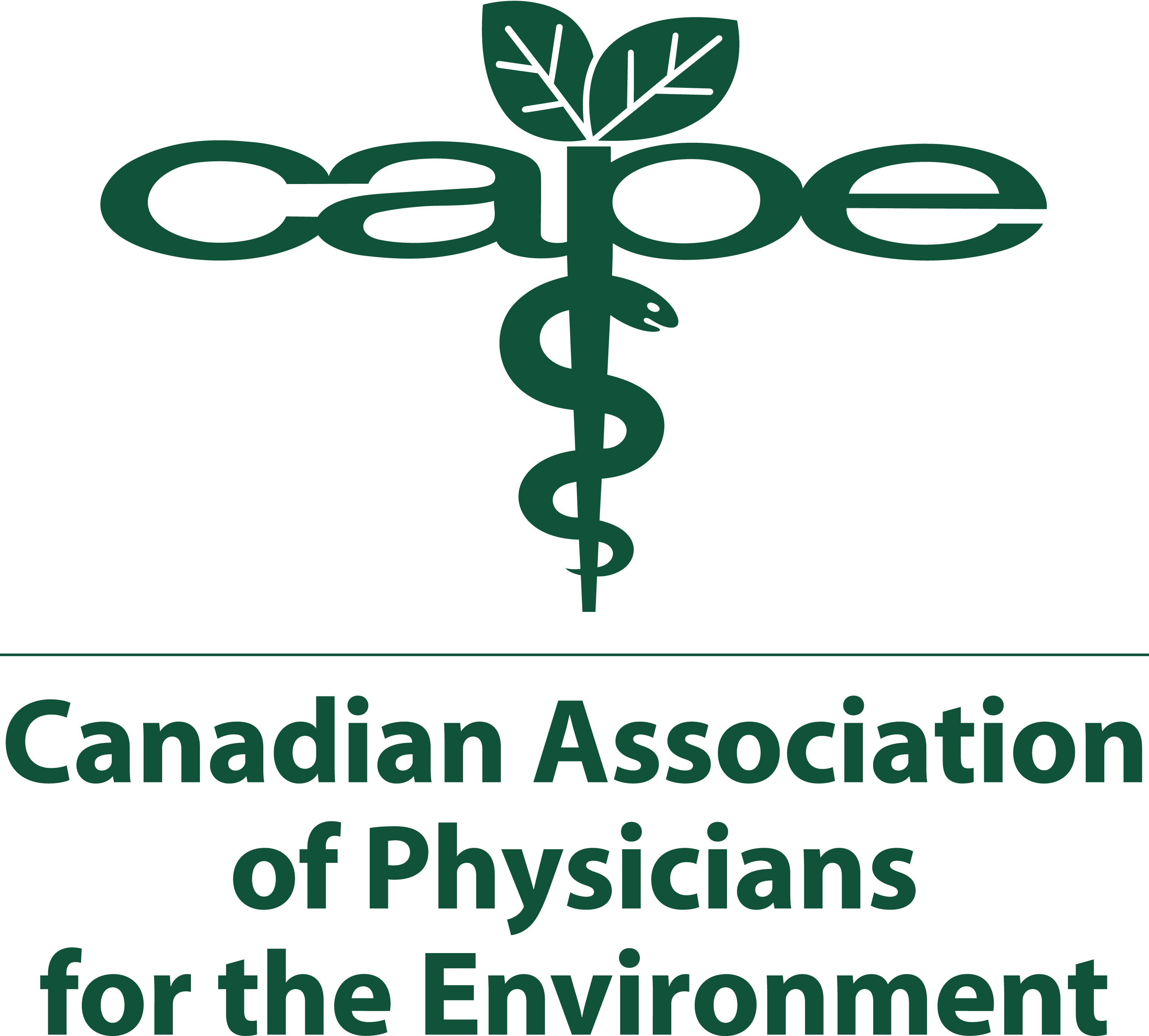 Canadian Association of Physicians for the Environment logo